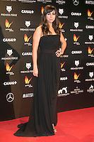 Carmen Ruiz attends the Feroz Cinema Awards 2015 at Las Ventas, Madrid,  Spain. January 25, 2015.(ALTERPHOTOS/)Carlos Dafonte) /NortePhoto<br /> <br /> nortePhoto.com