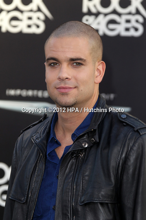 "LOS ANGELES - JUN 8:  Mark Salling arriving at ""Rock of Ages"" World Premiere at Graumans Chinese Theater on June 8, 2012 in Los Angeles, CA"