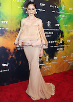 NEW YORK CITY, NY, USA - JUNE 16: Model Coco Rocha arrives at the 2014 Fragrance Foundation Awards held at the Alice Tully Hall, Lincoln Center on June 16, 2014 in New York City, New York, United States. (Photo by Celebrity Monitor)