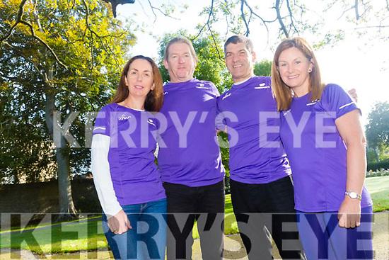 Kerry parkrunners organisers calling for more to be set up. Pictured  Siobhan Kearney (Tralee parkrun), Alan Ryan (Killarney parkrun), Tim Segal (Listowel parkrun) and Caroline Lynch (Tralee junior parkrun)
