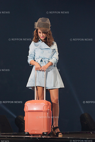 Akemi Darenogare, Feb 28, 2015 : Tokyo, The 20th Tokyo Girls Collection 2015 Spring/Summer was held at Yoyogi National First Gymnasium. (Photo by Michael Steinebach/Aflo)
