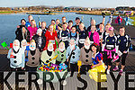 The Born To Run group before the start of the Tralee Musical Society 5k Run from Tralee Wetlands on Sunday morning