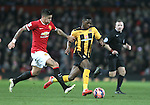 Marcos Rojo of Manchester United - FA Cup Fourth Round replay - Manchester Utd  vs Cambridge Utd - Old Trafford Stadium  - Manchester - England - 03rd February 2015 - Picture Simon Bellis/Sportimage