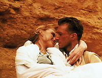 The English Patient (1996) <br /> Kristin Scott Thomas &amp; Ralph Fiennes<br /> *Filmstill - Editorial Use Only*<br /> CAP/MFS<br /> Image supplied by Capital Pictures