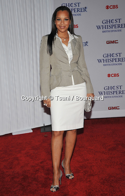 LisaRaye McCoy  _36   -<br /> Ghost Whisperer  100th Episode at  XIV By Michael Mina in Los Angeles.