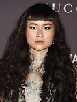 LOS ANGELES, CA - NOVEMBER 04:  Asia Chow attends the 2017 LACMA Art + Film Gala Honoring Mark Bradford and George Lucas presented by Gucci at LACMA on November 4, 2017 in Los Angeles, California.