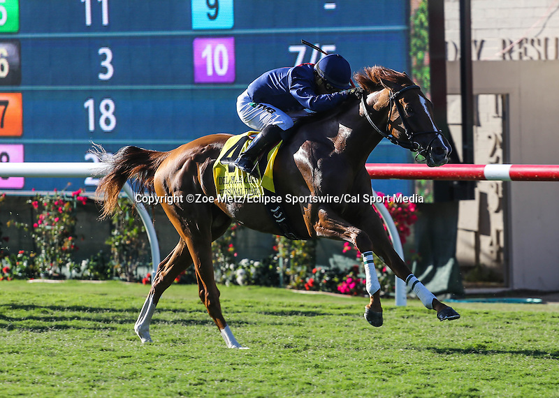 August 16, 2014: Personal Diary with Corey Nakatani aboard wins the Grade I $300,000 Del Mar Oaks at Del Mar Thoroughbred Club in Del Mar, California. Zoe Metz/ESW/CSM