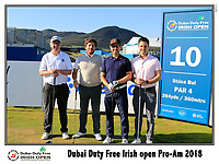Mikko Korhonen (FIN) team on the 10th tee during Wednesday's Pro-Am of the 2018 Dubai Duty Free Irish Open, held at Ballyliffin Golf Club, Ireland. 4th July 2018.<br /> Picture: Eoin Clarke | Golffile<br /> <br /> <br /> All photos usage must carry mandatory copyright credit (&copy; Golffile | Eoin Clarke)