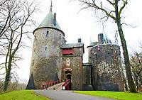 DEC 22 Castell Coch, Tongwynlais
