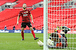 LONDON, ENGLAND - MARCH 29: Steve Tomassen of Wrexham sees his penalty saved by Adam Nicklin of North Ferriby United during the FA Carlsberg Trophy Final 2015 at Wembley Stadium on March 29, 2015 in London, England. (Photo by David Horn/EAP)
