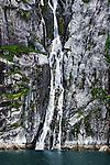 Waterfall in Cataract Cove