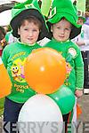 Enjoying the Rathmore St Patricks Days parade on Sunday were Padraig and Rian Murphy, Shinnagh. ..........