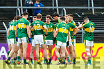 Kerry players before the Munster Senior Football Championship Semi Final in Ennis on Sunday.