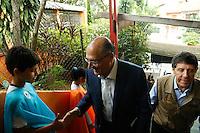 SÃO PAULO, SP, 02.12.2016 - DENGUE-SP . O Governador Geraldo Alckmin durante  evento de lançamento da campanha contra a dengue, na escola Alcides da Costa Vidigal, no Butantã, zona oeste de São Paulo, na manhã desta sexta-feira, 02. (Foto: Adriana Spaca/Brazil Photo Press)