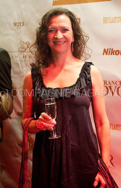 Ann Pira at the 10 Jaar De Rode Loper party in the Noxx dancing, Antwerp (Belgium, 30/10/2010)