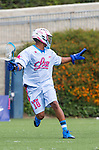 Costa Mesa, CA 06/08/13 - Kyle Harrison (Team STX #18) in action during the inaugural game of the LXMPRO Tour in Orange County.  The Team STX defeated Team Maverik 14-13 at Orange Coast College's Bard Stadium.