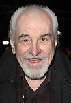 Louis Zorich attending the Opening Night Performance of the Roundabout Theatre Company's Broadway Production of 'Talley's Folly' at the Laura Pels Theatre in New York City on 3/5/2013