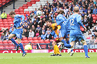 Michael Duberry going over the top of John Sutton