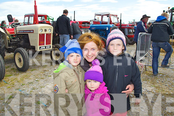 Pictured at the Kingdom County Fair on Sunday, from left: Sean, Mary-Kate, Kathleen and Julie O?Sullivan, from Waterville..