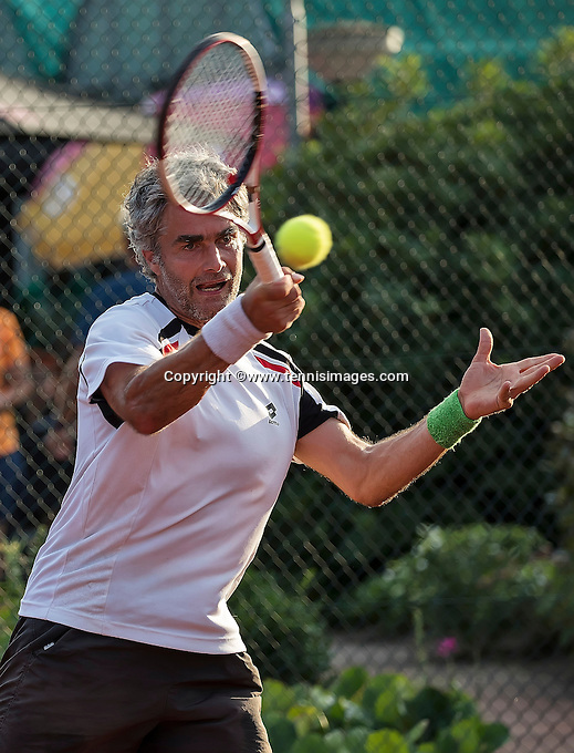 Etten-Leur, The Netherlands, August 23, 2016,  TC Etten, NVK, Bart Theelen (NED)<br /> Photo: Tennisimages/Henk Koster