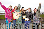 Scattergood's & Special Guests will perform a charity gig on Thursday 3rd April at 8pm in Tech Amergin, Waterville in aid of the South West Family Resource Centre's low cost Councelling Service, pictured here l-r; Liz & Andrew Skatz Scattergood, Caroline Kennedy, Christina & Christine Tyler.
