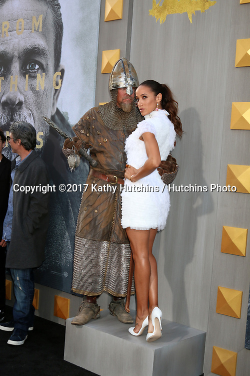 "LOS ANGELES - MAY 8:  Dania Ramirez at the ""King Arthur Legend of the Sword"" World Premiere on the TCL Chinese Theater IMAX on May 8, 2017 in Los Angeles, CA"