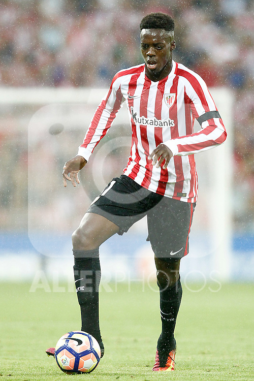 Atletic de Bilbao's Inaki Williams during La Liga match. August 28,2016. (ALTERPHOTOS/Acero)