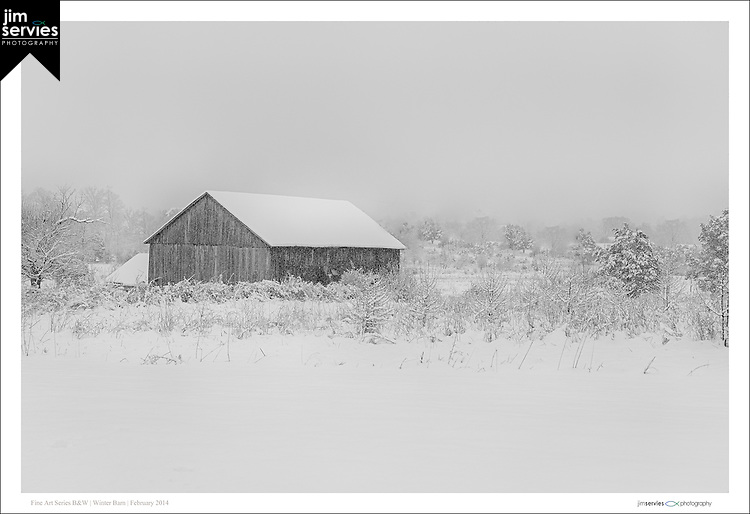Winter Barn | February 2014