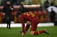 Nicolo Zaniolo of AS Roma injured <br /> Roma 11-3-2019 Stadio Olimpico Football Serie A 2018/2019 AS Roma - Empoli<br /> Foto Andrea Staccioli / Insidefoto