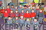 Marie Westlake junior infants class that started school in Holy Cross NS Killarney on Thursday front row l-r: Kieran Shamsuddoha, Brayden Slattery, Jamie Moynihan, Lukas Bartkas, James Anderson. Middle row: Cassie Davies, Emma Looney, Scarlette O'Connor, Maja Dowling, Clodagh Slattery, Nessa Galvin, Oliver Zuchowski. Back row: Natalia Nowak, Olivia Plasecka, Haamen MD, Oisin O'Sullivan, Liam Croin, Shafin Alam, Erikas Sedwikis, Adam Counihan and Natalia May..