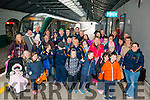 Skellig Stars Special Olympics Club off to Dublin Zoo for Outing. Pictured at the Killarney Train Station minutes before boarding the train to Dublin last Thursday morning.