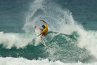 SUNSET BEACH, Oahu/Hawaii (Thursday, December 2, 2010) - Jordy Smith (ZAF).  Brazilian Raoni Monteiro (BRA) became the first Brazilian in 20 years to take out the Men's division of the O'Neill World Cup of Surfing today. Julian Wilson (AUS) who won the Rookie of the Triple Crown and is leading the Triple Crown ratings finished in 2nd with Granger Larsen (HAW) in 3rd and  Josh Kerr (AUS) in 4th .Contest  Wildcard Tyler Wright (AUS), 16,  won the O'Neill Women's World Cup of Surfing, topping Sunset Beach local Coco Ho (HAW), 19, reigning four-time ASP Women's World Champion Stephanie Gilmore (AUS), 22, and ASP Women's World Tour No. 2 Sally Fitzgibbons (AUS), 19, in two-to-four foot (1 metre) surf at Sunset Beach. Wright was also named Women's Rookie of the Triple Crown..Photo: joliphotos.com