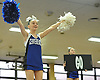 Angelina Damsker and the Centereach varsity cheerleading squad perform during an eight-team competition held at Bethpage High School on Sunday, Jan. 22, 2017.