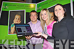 WEB-SITE LAUNCH: Kerry Rose Veronica Hunt launching the new Oakview Creche web-site at Toby World, Tralee on Saturday l-r: Nessan Crean (director Oakview Creche), Kerry Rose Veronica Hunt and Clodagh Moynihan (manager Oakview Creche).