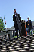 Parcicipants were transported back in time to the 1869 Battle of Nashville Saturday afternoon as the DuSable Museum hosted the 2nd annual Civil War Family Day in Washington Park.<br /> <br /> Actor, Michael Krebb as Abraham Lincoln.