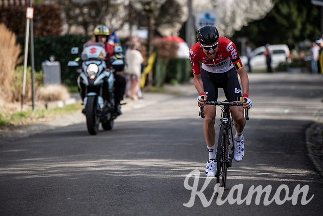 race leader Tim Wellens (BEL/Lotto-Soudal) at the 58th Brabantse Pijl 2018 (BEL)