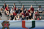 The Maryland Terrapins' team watches part of the game on Wednesday, November 2nd, 2005 at SAS Stadium in Cary, North Carolina. The University of Virginia Cavaliers defeated the Wake Forest Demon Deacons 2-1 during their Atlantic Coast Conference Tournament Quarterfinal game.
