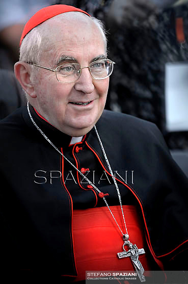 Cardinal Agostino Vallini,Pope Francis during the Family Day at St Peter's square at the Vatican on October 26, 2013