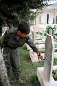 Iraq 2009.The graveyard of PKK in Candil   Irak 2009. Le cimetiere du PKK a Candil