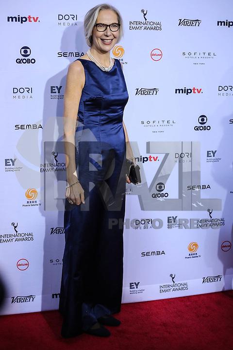 NEW YORK, NY 21.11.2016 - EMMY-2016 -  Maria Robye Ronn durante tapete vermelho do Emmy Internacional 2016 prêmio dos melhores atores e novelas da TV, em Nova York, nos Estados Unidos na noite desta segunda-feira, 21 (Foto: Vanessa Carvalho/Brazil Photo Press)