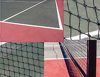 Lines and angles, rectangles and squares.  Tennis anyone?