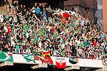 Madrid (03/03/2012).-Campo de Futbol de Vallecas..Liga BBVA..Rayo Vallecano-Real Racing Club..Aficion Racing...©Alex Cid-Fuentes.......