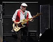 SUNRISE FL - FEBRUARY 20: John McVie of Fleetwood Mac performs at The BB&T Center on February 20, 2019 in Sunrise, Florida. Photo by Larry Marano © 2019
