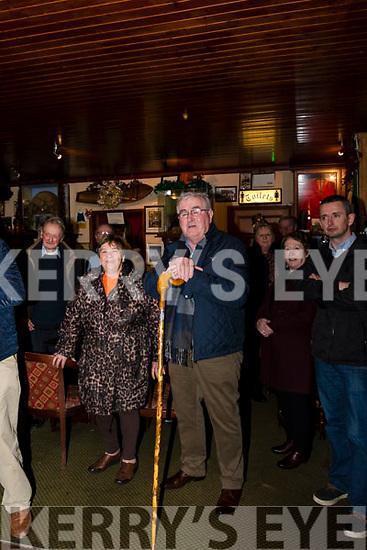 Dan Tim O'Sullivan at The Red Fox Inn Glenbeigh celebrating the awarding to him of Freedom of the City of London