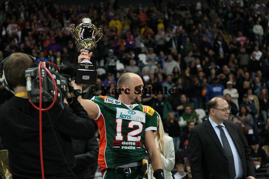 Jeff Welsh (Kiel) wird zum MVP gewaehlt