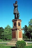 St. Louis: Forest Park, Statue of Edward Bates by J. Wilson McDonald, 1876. Photo '77.