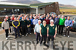 The Federation of Kerry County Council Golf Clubs.Pictured l-r Sean O'Connor (Treasurer), George Nash (Captain ) and Eddie Hannafin (Secretary) with Members at the  Kerry Captains Day at Castlegregory Golf Club on Saturday