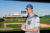DJ Dell'Anno during the Under Armour All-America Tournament powered by Baseball Factory on January 17, 2020 at Sloan Park in Mesa, Arizona.  (Zachary Lucy/Four Seam Images)