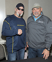 NEW YORK, NY - NOVEMBER 4:  Scott Steiner and Ric Steiner attends the Big Event NY at LaGuardia Plaza Hotel on November 4, 2017 in Queens, New York.  Credit: George Napolitano/MediaPunch /NortePhoto.com