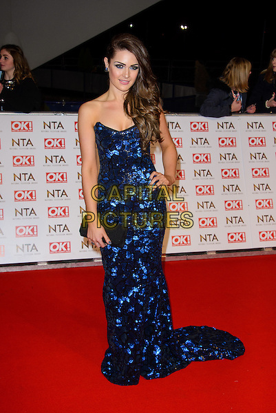 LONDON, ENGLAND - JANUARY 21: Anna Passey attends the National Television Awards 2015  at The O2 Arena , on January 21, 2015 in London, England. <br /> CAP/JC<br /> &copy;JC/Capital Pictures